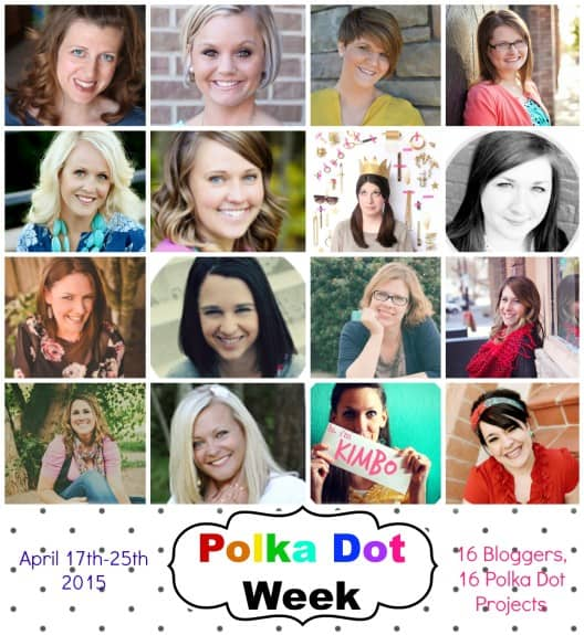 polka dot week bloggers