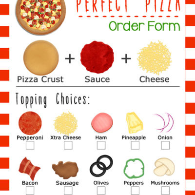Movie and Pizza Family Night Idea w/ Printable Order Forms