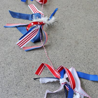 Firework Ribbon Garland
