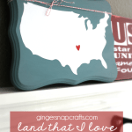 OTBM Land That I Love Wall Art by GingerSnapCrafts.com