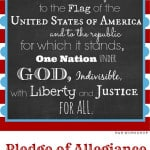 Pledge of Allegiance Free Print