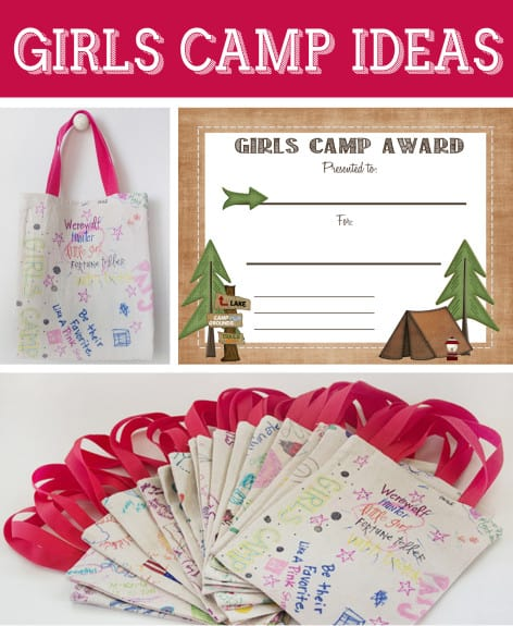 girls camp awards