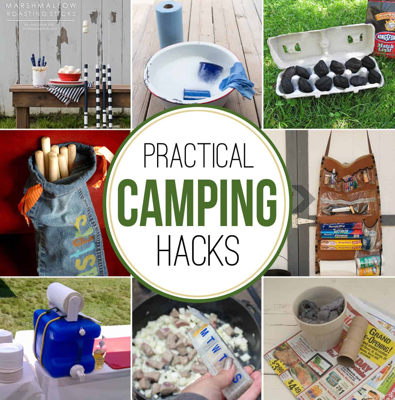 Practical Camping Hacks Over The Big Moon