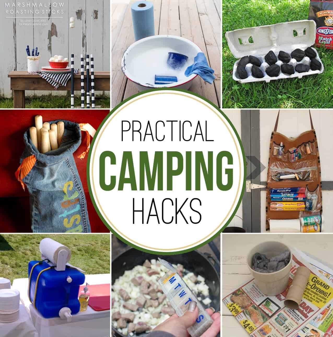 Diy Hacks Home Practical Camping Hacks Over The Big Moon