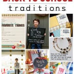 Back to School Traditions - all these ideas are so fun to help make Back to School extra special for your family! From www.overthebigmoon.com!