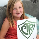 CTR Baptism Gift - This fun printable is the perfect gift for those special little 8 year olds getting baptized! From www.overthebigmoon.com!