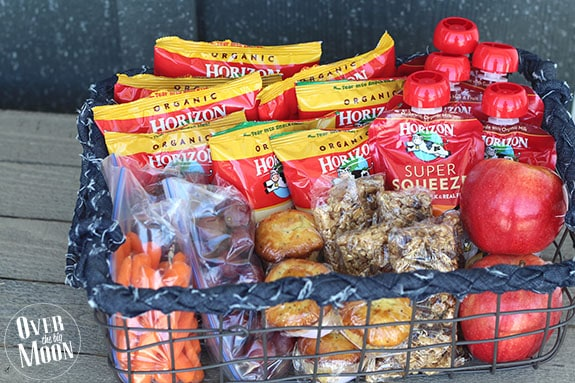 I Put The Following In Our Kids Camping Snack Basket