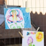 Salt Painting - such a fun activity that kids love!! From www.overthebigmoon.com!