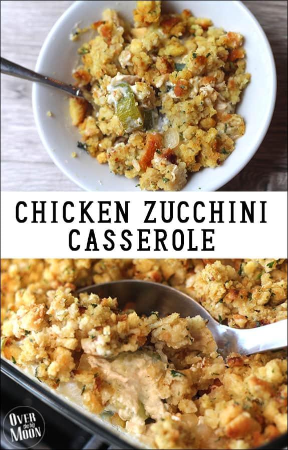 Chicken Zucchini Casserole Over The Big Moon