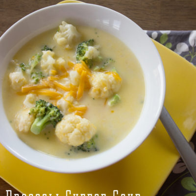 The BEST Broccoli Cheese Soup - comes together super quick too! From www.overthebigmoon.com!