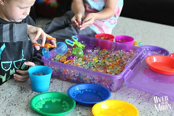 Water Bead Activities for Kids