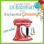 KitchenAid Mixer Giveaway - Sept 2015 from www.overthebigmoon.com!