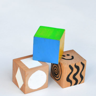 Art Dice for Kids - such a fun activity to help kids get creative with their art work, while making it fun! www.overthebigmoon.com!