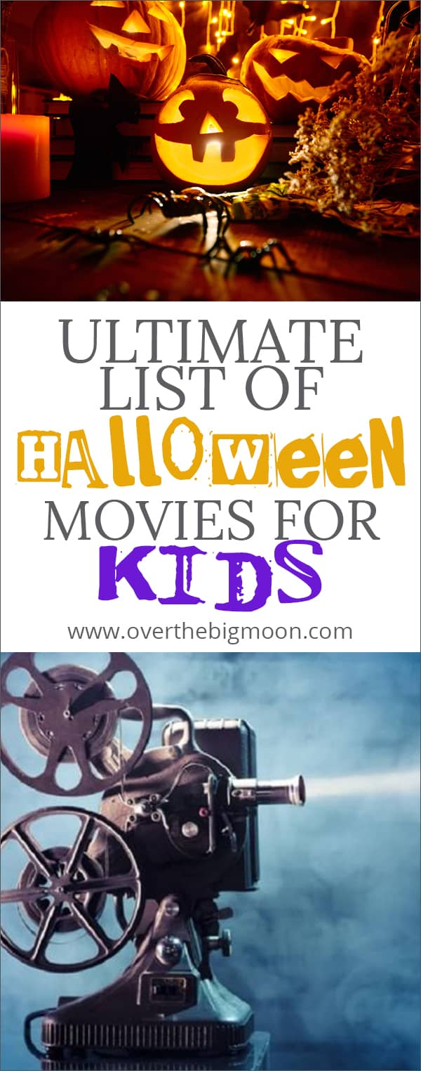 the ultimate list of halloween movies for kids