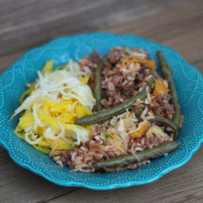 Beef and Cabbage Dinner in a Pumpkin