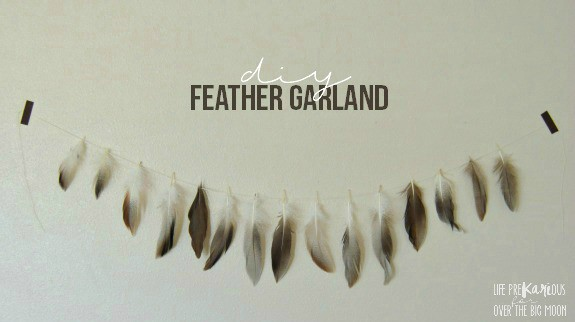 DIY Feather Garland