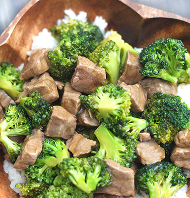 Easy Beef and Broccoli Dinner - this dinner is so much easier then you would think! This is a must try friends! From www.overthebigmoon.com!