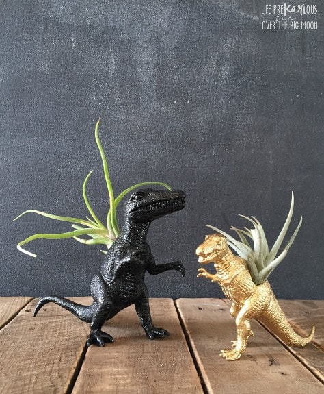 DIY Dinosaur Air Plant Vase