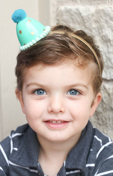 Easter Egg Party Hat Headbands