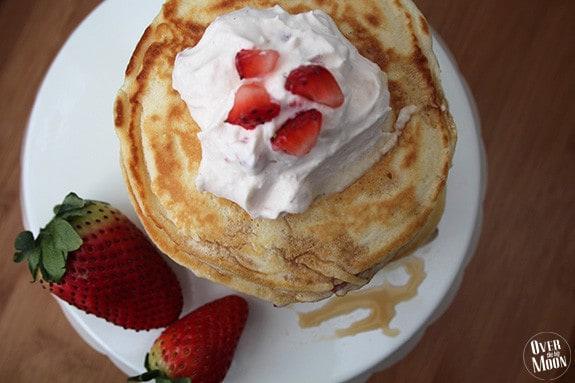 strawberry-pancakes