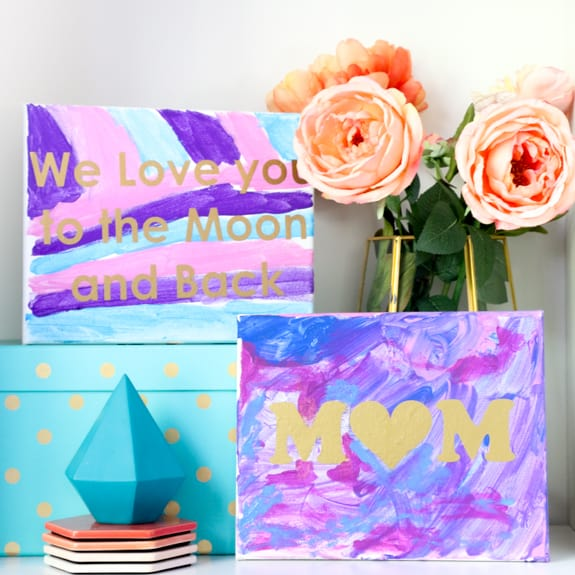 Für Kids Mütter Und Die Großen: Kid Friendly Mother's Day Art