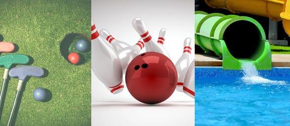 golf-bowling-waterslide