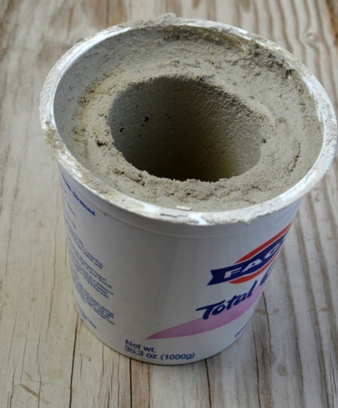 DIY Cement Planter1