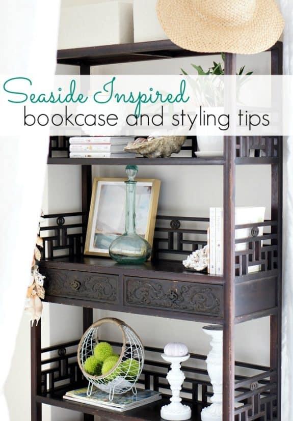 seaside-inspired-bookcase