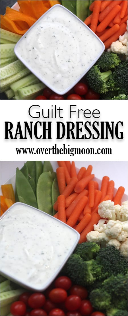 No Guilt Ranch Dressing - you won't even be able to tell the ...