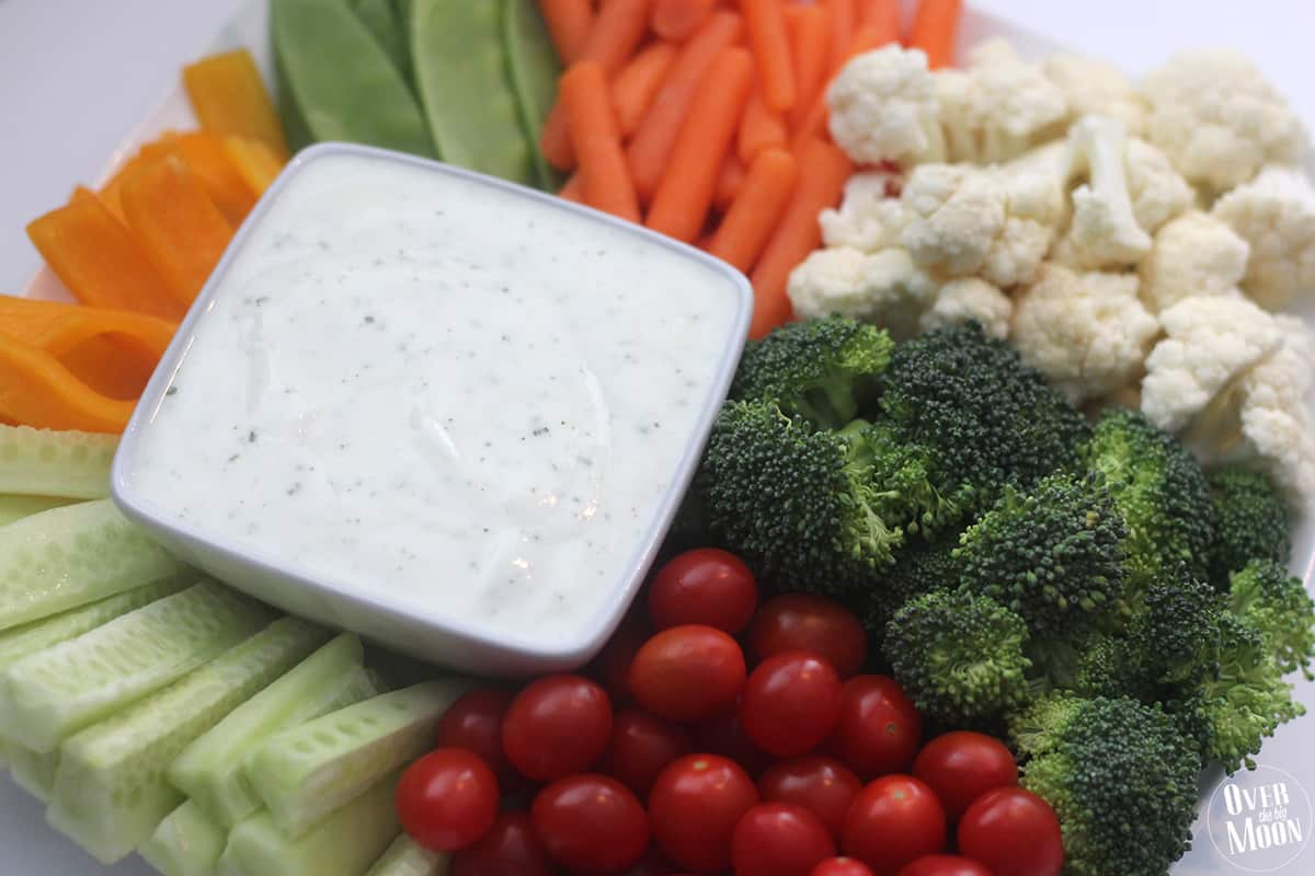 No-Guilt Zesty Ranch Dip Recipe — Dishmaps