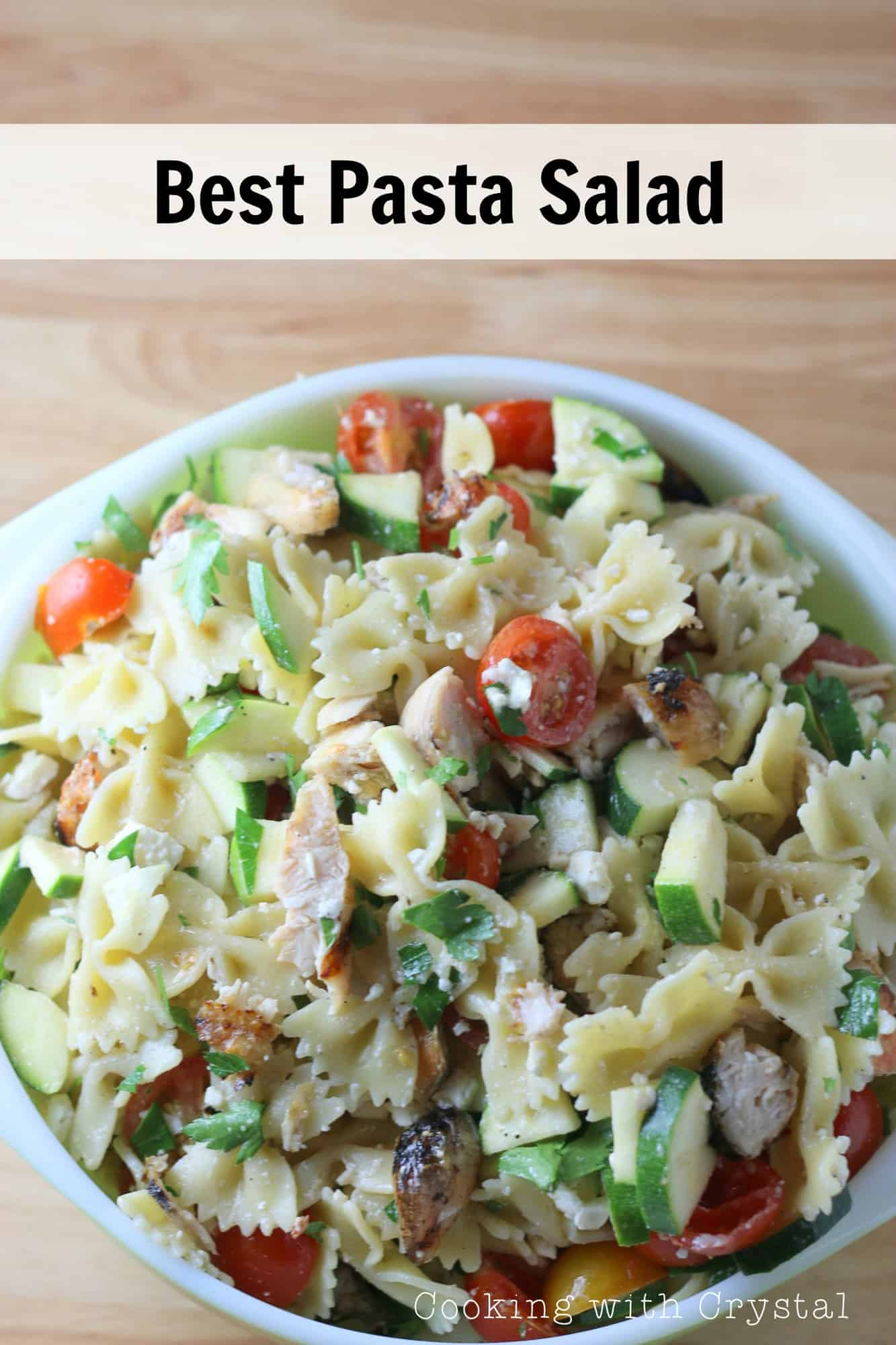 The Best Summer Pasta Salad - Over The Big Moon