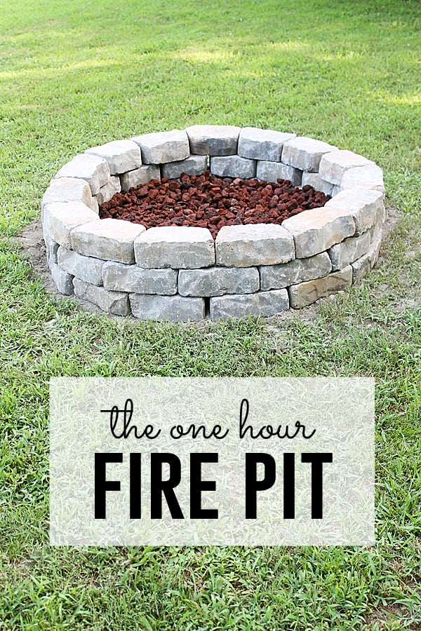 10 diy projects to do this summer over the big moon one hour fire pit solutioingenieria Image collections