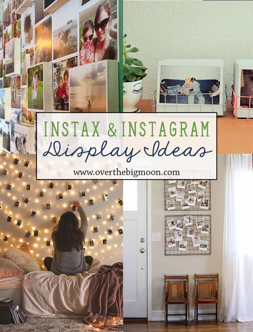 10 Awesome Instax Or Instagram Display Ideas Www Overthemoon