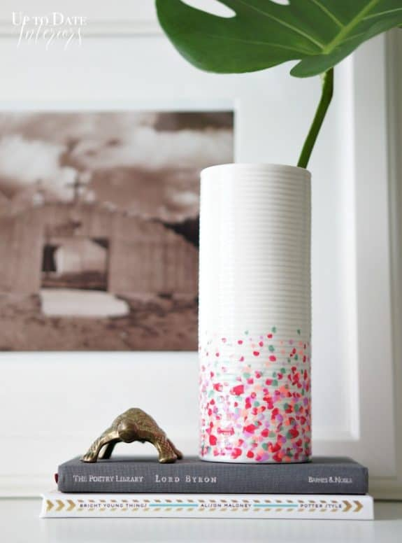 confetti-vase-dollar-store