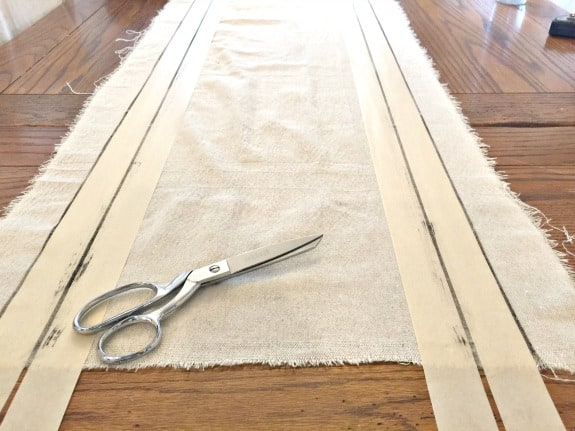 did you know making your own grainsack fabric can be so easy