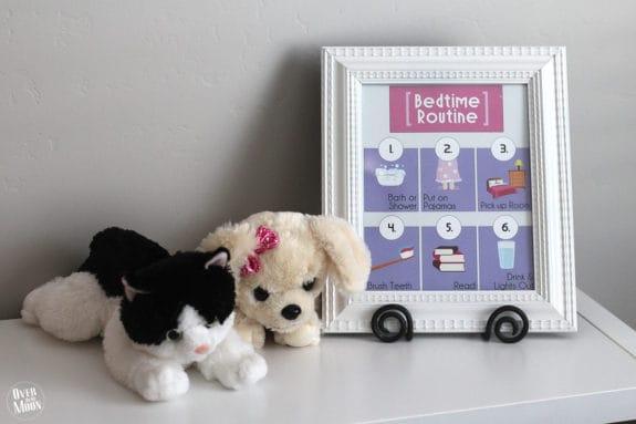 bedtime-routine-girl-printable