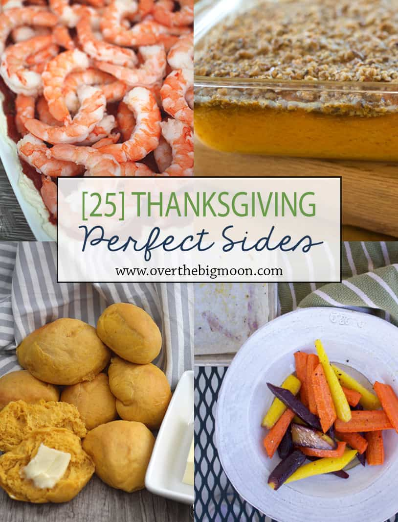 Here are some great side suggestions for Thanksgiving or Christmas Dinner!