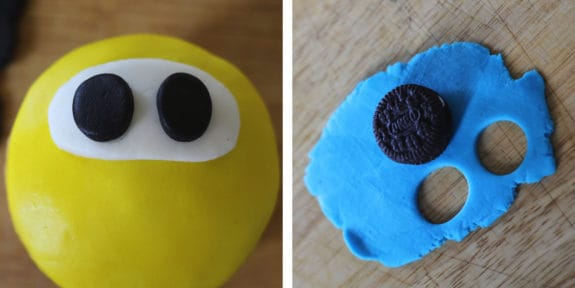 Simple Kids Fondant Cupcake Tutorial - perfect for a kids toddler bday!! From www.overthebigmoon.com!