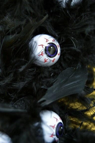 Eyeball Halloween Wreath