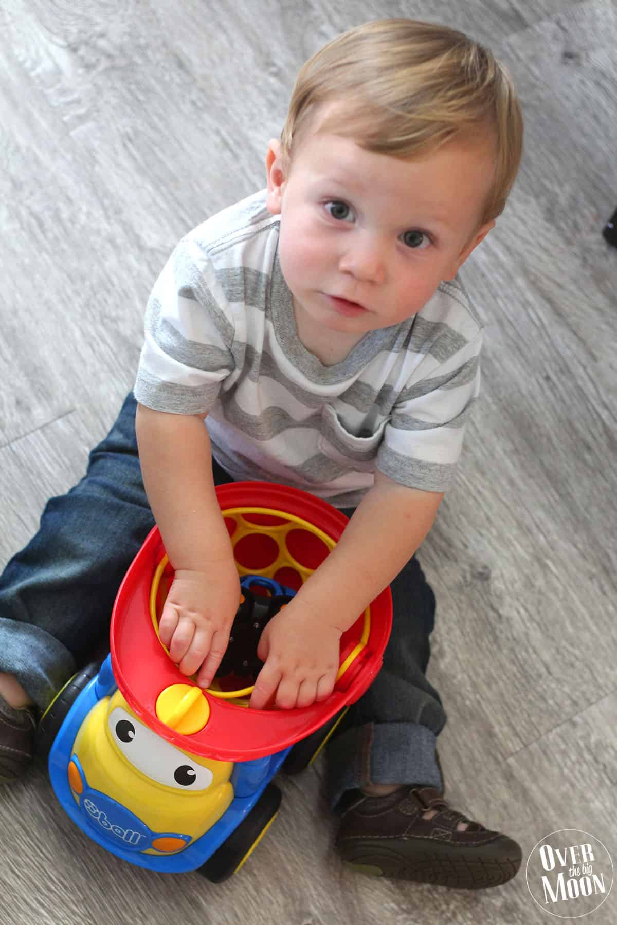 Go Grippers toy line is so much fun! Perfect for toddlers! My nephew loved it all!