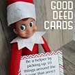 Elf on the Shelf Good Deed Cards | From www.overthebigmoon.com!