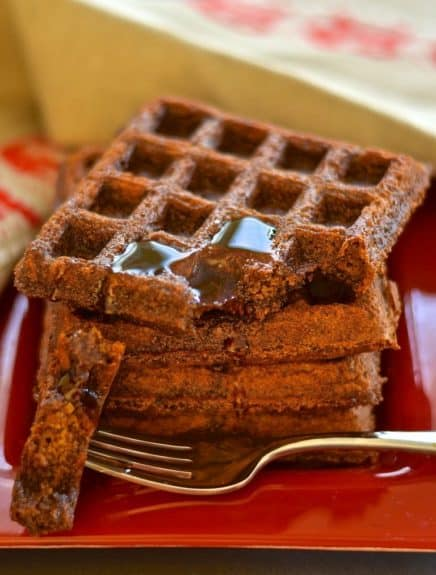gingerbread-waffles