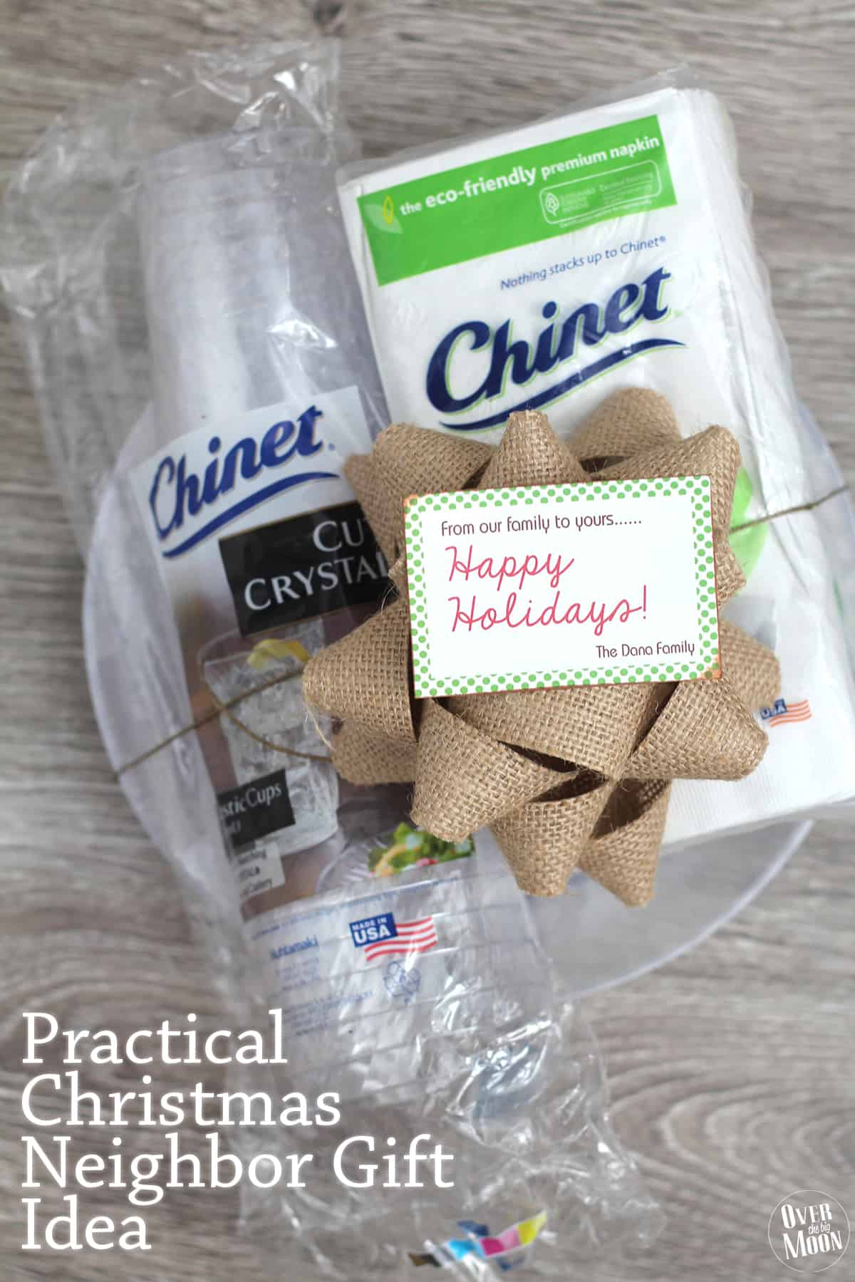 love this idea for close friends or neighbors practical christmas neighbor gift idea using disposable