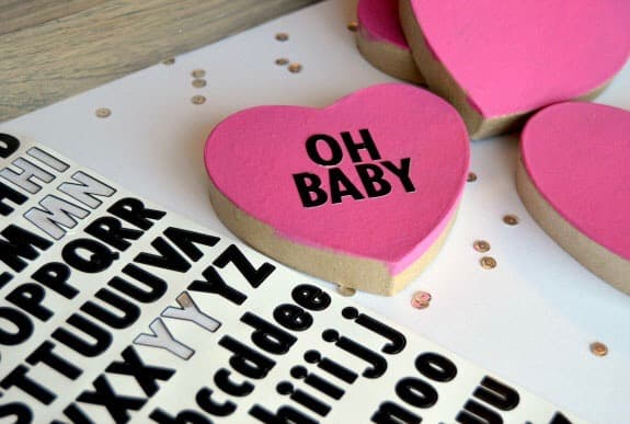 Oversized Conversation Hearts