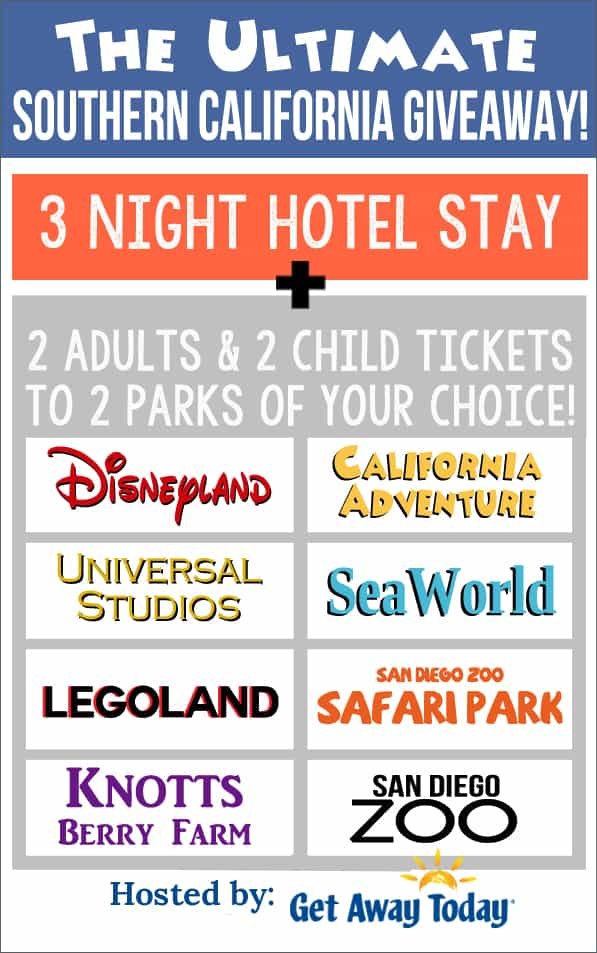 Southern California Vacation Package Giveaway | www.overthebigmoon.com