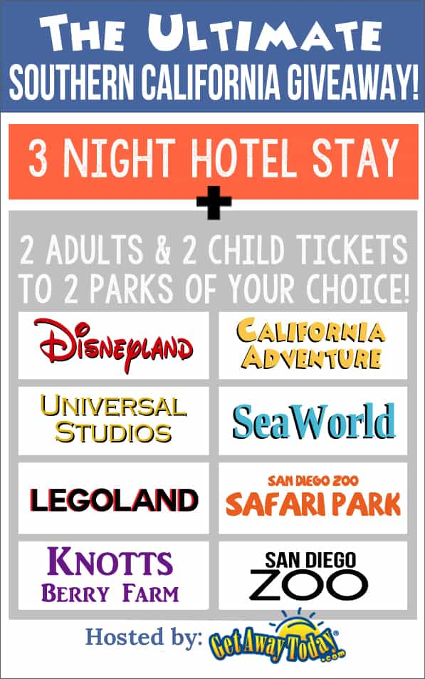 Southern California Vacation Package Giveaway   www.overthebigmoon.com
