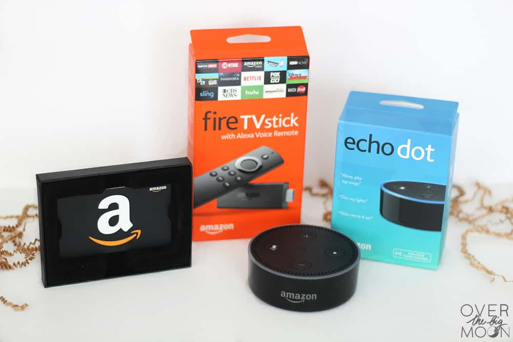 Amazon themed Giveaway - Amazon Echo Dot, Amazon Fire Stick and $50 Amazon Gift Card!