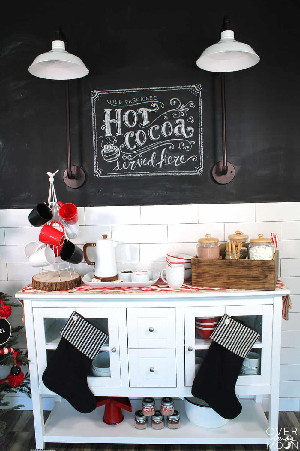 Baby It's Cold Outside - Hot Cocoa Bars are a must during the cold winter months! Check out all the details here!
