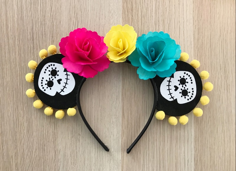 Disney Pixar Coco inspired Mouse Ears and more fun Coco Kids Activities and Printables! From overthebigmoon.com!