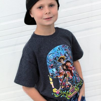 Disney Pixar Coco clothes from Kohl's! My kids loved wearing them to see the movie! From overthebigmoon.com!